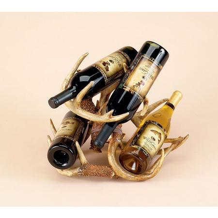 RIVER`S EDGE ANTLER WINE RACK