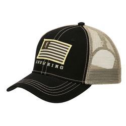 BROWNING PATRIOT HAT BLACK/TAN