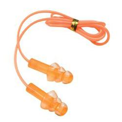 CHAMPION GEL CORDED EAR PLUGS ORANGE