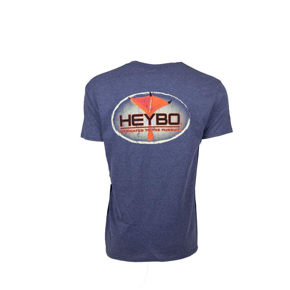 Heybo Frog Giggin SS Denim Heather T-Shirt