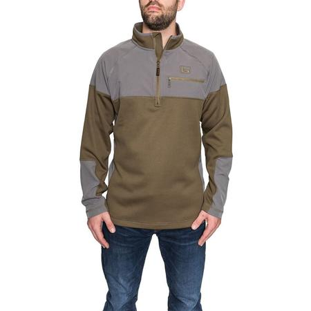 BANDED SOUTHERN PINES 1/4 ZIP
