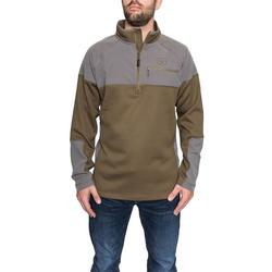 BANDED SOUTHERN PINES 1/4 ZIP SPANISH_MOSS
