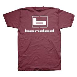 BANDED SIGNATURE S/S TEE RED_CLAY