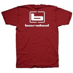 BANDED FLYIN` COLORS S/S TEE CARDINAL