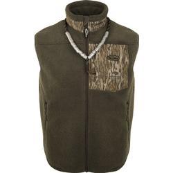 Drake MST Sherpa Fleece Hybrid Liner Vest BOTTOMLAND