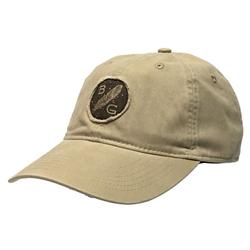BANDED FEATHER PATCH CAP KHAKI