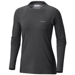 Columbia Women's Heavyweight Stretch Long Sleeve Top BLACK