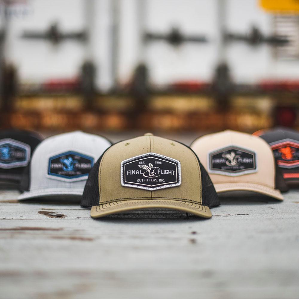 f2593dbc1 Final Flight Outfitters Inc.| Richardson Flight 112 Patch Mesh Back Hat