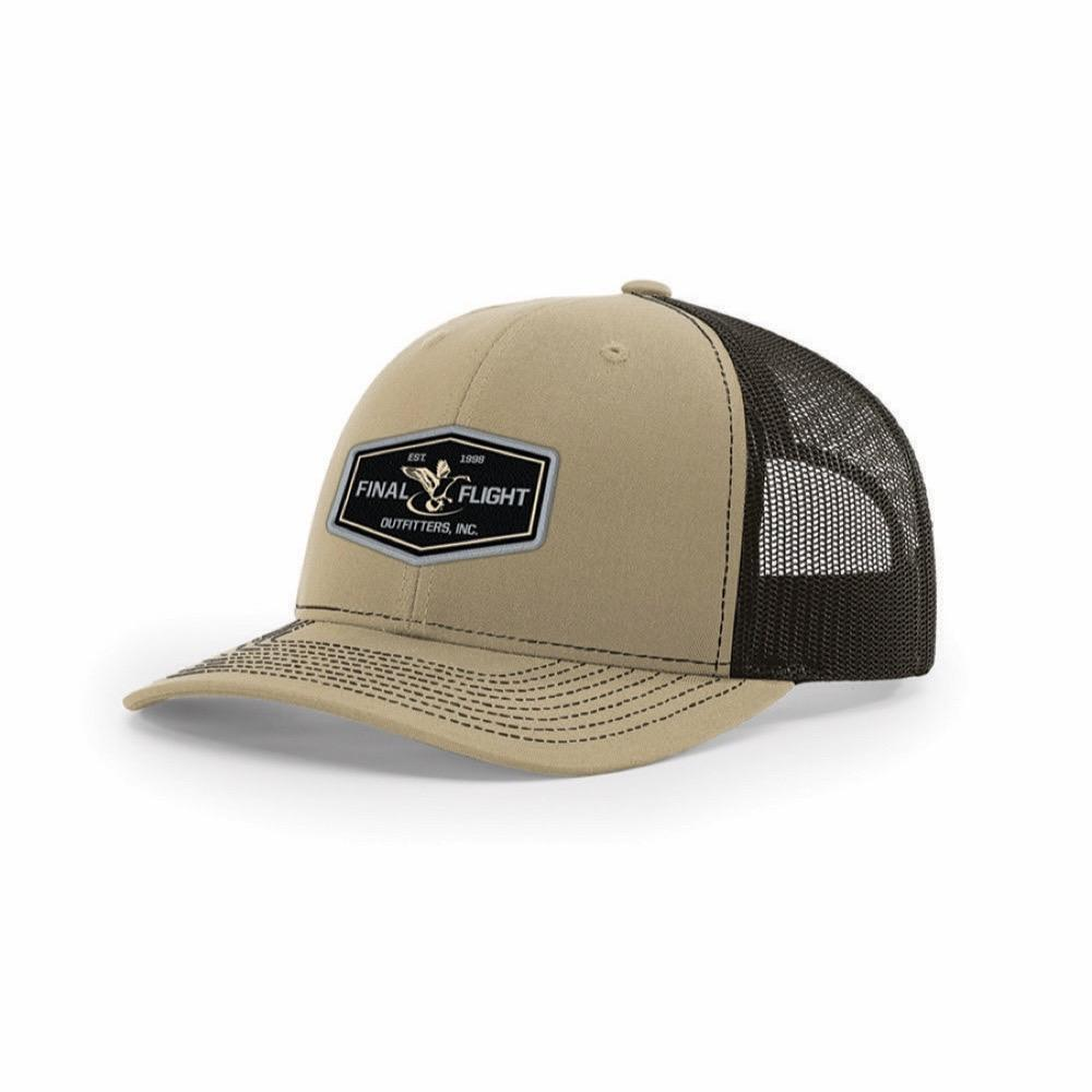 a433c773 Final Flight Outfitters Inc.  Richardson Flight 112 Patch Mesh Back Hat