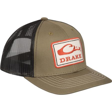 e3e247b4ee0 DRAKE SQUARE PATCH MESH BACK CAP