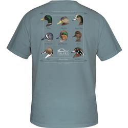 DRAKE YOUTH PUDDLE DUCK COLLECTION S/S T ICE_BLUE