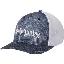 COLUMBIA CAMO MESH BALL CAP BLACK/RT_MAKO