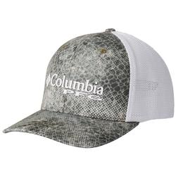 COLUMBIA CAMO MESH BALL CAP CYPRESS/RT_MAKO
