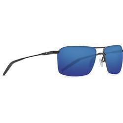 COSTA SKIMMER 580P MATTE BLACK GLASSES BLUE_MIRROR