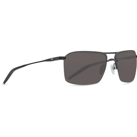 COSTA SKIMMER 580P MATTE BLACK GLASSES