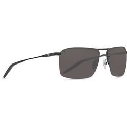 COSTA SKIMMER 580P MATTE BLACK GLASSES GRAY