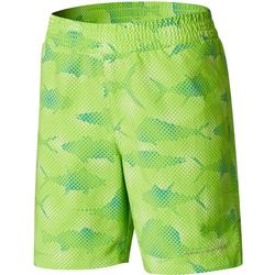 COLUMBIA YOUTH SUPER BACKCAST SHORT GREEN_MAMBA