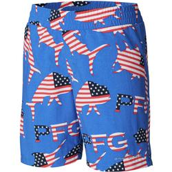 COLUMBIA YOUTH SUPER BACKCAST SHORT VIVID_BLUE_MERICA