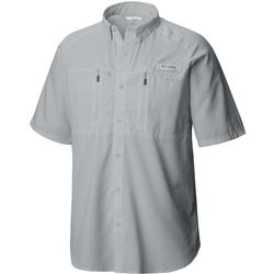 COLUMBIA TERMINAL TACKLE S/S WOVEN COOL_GREY