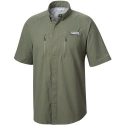 COLUMBIA TERMINAL TACKLE S/S WOVEN CYPRESS