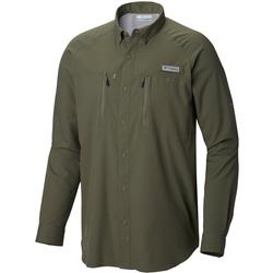 COLUMBIA TERMINAL TACKLE L/S WOVEN CYPRESS