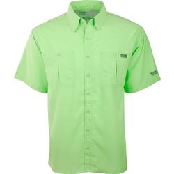 DRAKE DPF FLYWEIGHT S/S SHIRT BRIGHT_GREEN