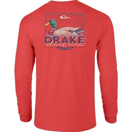 DRAKE MALLARD DRAKE L/S T