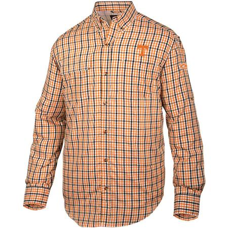 DRAKE TN GINGHAM WINGSHOOT L/S