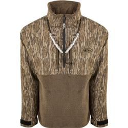 DRAKE MST GUARDIAN FLEX SHERPA FLEECE 1/4 ZIP BOTTOMLAND