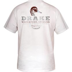 DRAKE PINTAIL HEAD S/S T WHITE
