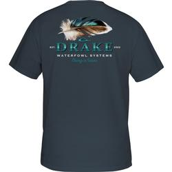DRAKE DUCK FEATHER S/S T MIDNIGHT