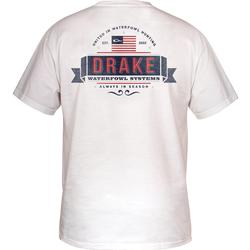 DRAKE PATRIOT S/S T WHITE