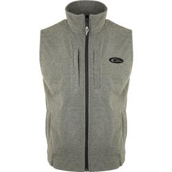 DRAKE HEATHER WINDPROOF LAYERING VEST GREY/HEATHER
