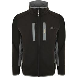 DRAKE WINDPROOF TECH JACKET BLACK/CHARCOAL