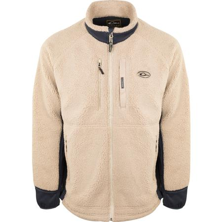 DRAKE SHERPA FLEECE LAYERING JACKET