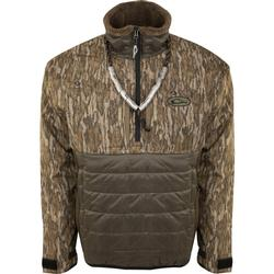 DRAKE LST GUARDIAN FLEX DOUBLE DOWN 1/4 ZIP BOTTOMLAND