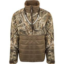 DRAKE LST GUARDIAN FLEX DOUBLE DOWN 1/4 ZIP MAX5