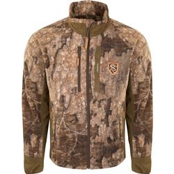 DRAKE NT MIDWEIGHT WINDPROOF LAYERING JACKET TIMBER