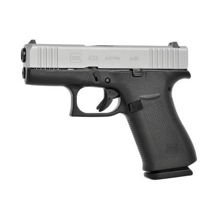 Glock G43X Slimline with Fixed Sights