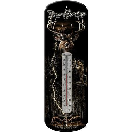 RIVER`S EDGE TIN THERMOMETER