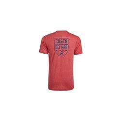 COSTA SPECIES SHIELD S/S T-S RED_HEATHER