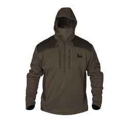 BANDED FG-1 SOFT-SHELL PULLOVER BROWN