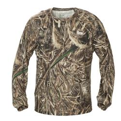 BANDED TECH STALKER MOCK SHIRT MAX5