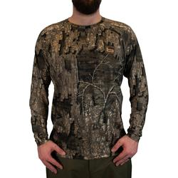 BANDED TECH STALKER MOCK SHIRT TIMBER