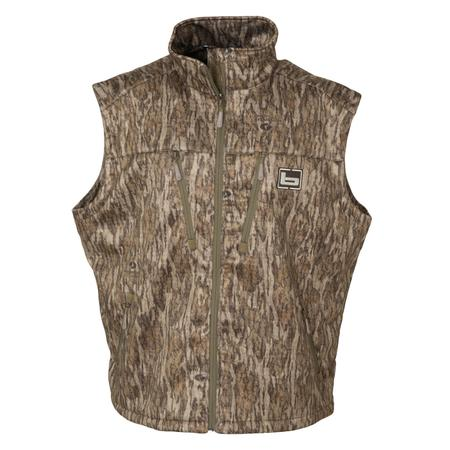 BANDED MID-LAYER FLEECE VEST