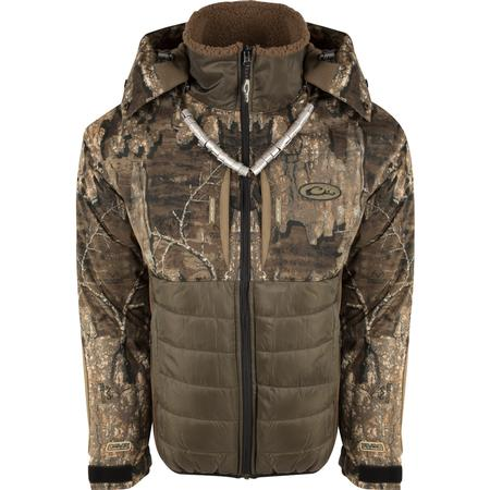 DRAKE LST GUARDIAN FLEX DOUBLE DOWN FULL ZIP W/HOOD