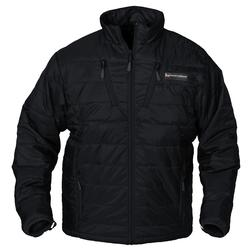 BANDED H.E.A.T. INSULATED LINER JACKET-LONG BLACK