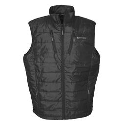 BANDED H.E.A.T INSULATED LINER VEST BLACK