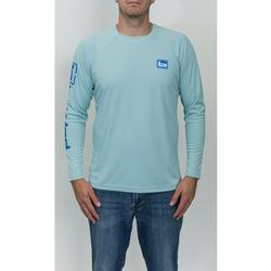 BANDED PERFORMANCE ADVENTURE SHIRT TURQUOISE