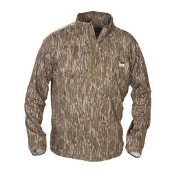 BANDED TEC STALKER YOUTH 1/4 ZIP PULLOVER BOTTOMLAND